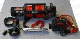 VERRICELLO TYREX 13000 LB CAVO SINTETICO SERIE BLACK / FXR-13000SP