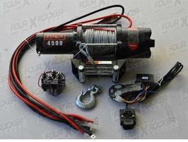 VERRICELLO TYREX ATV UTV 4500 LB CAVO ACCIAIO SERIE BLACK - FXR4500AP