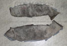 Coppia moquette tappezzeria parafanghi posteriori Nissan Patrol TR