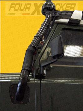 SNORKEL TUBOLARE METALLICO ADATTABILE LAND ROVER SERIE 3 /  FXR01564