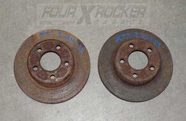Coppia dischi freno anteriore Jeep Cherokee XJ 2.1td