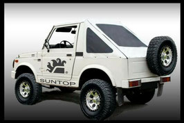 CAPOTE CAPPOTTINA FAST BACK  SUZUKI SAMURAI - SJ  COLOR BIANCO
