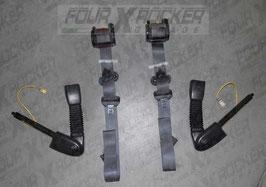 Coppia cinture di sicurezza anteriori + starter Land Rover Freelander 3 porte