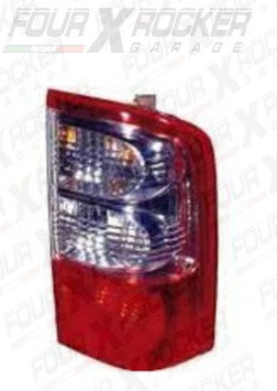 FANALE STOP POSTERIORE  DX BIANCO / ROSSO NISSAN PATROL GR Y61 / RS-26555-VC325