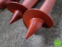 Свая СВС-159*3000*4 (стальная винтовая свая со сварным наконечником)