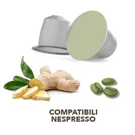Capsula Nespresso Caffè Verde gusto Zenzero