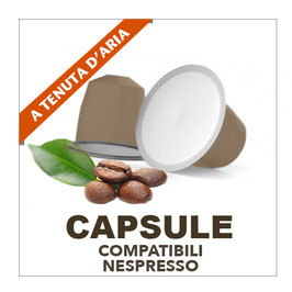 Capsule compostabili Nespresso- miscela Bar 100 pz.