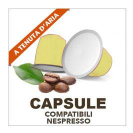 Capsule compostabili Nespresso - miscela Oro 100 pz.