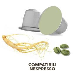 Capsula Nespresso Caffè Verde  gusto Ginseng