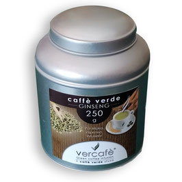 Caffè Verde macinato moka dal gusto Ginseng