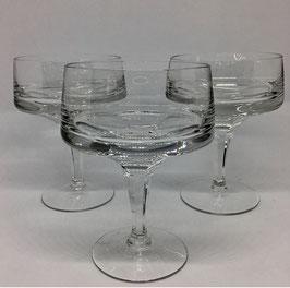 Set de Copas de cristal para champagne o cava