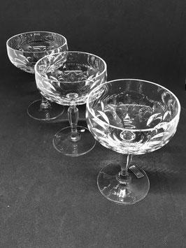 Set  Copas Cristal para Champagne