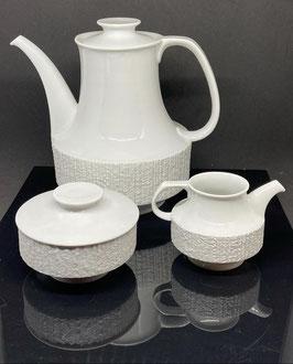 Vajilla de porcelana para 4 - Thomas serie Arcta Años 70s