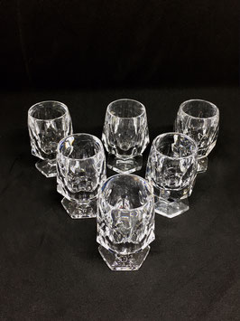 Cut Crystal Shot Glasses VENDIDO