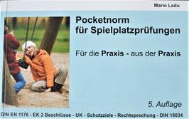 Pocketnorm für Spielplatzprüfungen  5. Auflage 3/2021