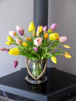 Bouquet de Tulipes Douceur du Soir