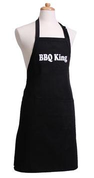 Männerschürze BBQ King