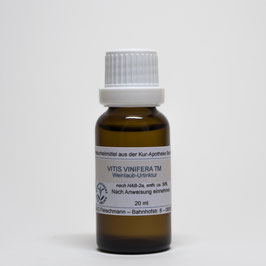 Vitis vinifera TM – Weinlaub-Urtinktur