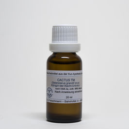 Cactus grandiflorus TM – Königin-der-Nacht-Urtinktur