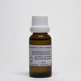 Iris versicolor TM – Sumpfschwertlilien-Urtinktur