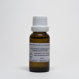 Asclepias tuberosa TM – Knollige-Seidenpflanze-Urtinktur