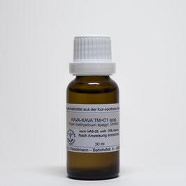 Kava-kava spag. TM=D1 – Rauschpfeffer-Urtinktur spagyrisch