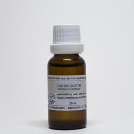 Crataegus TM  – Weißdornfrüchte-Urtinktur