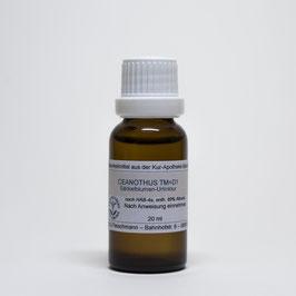Ceanothus americanus TM=D1 – Säckelblumen-Urtinktur