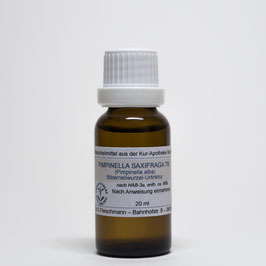 Pimpinella saxifraga TM – Bibernellwurzel-Urtinktur
