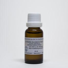 Cetraria islandica TM=D1 – Isländisch-Moos-Urtinktur