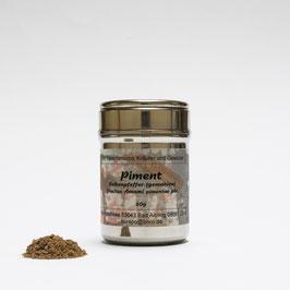 Piment (Nelkenpfeffer), gemahlen
