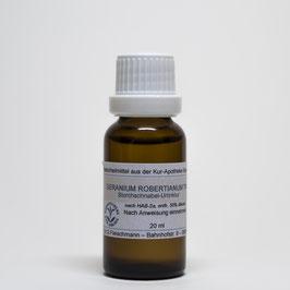Geranium robertianum TM – Storchschnabel-Urtinktur