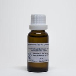 Coriandrum sativum TM=D1 – Korianderfrüchte-Urtinktur
