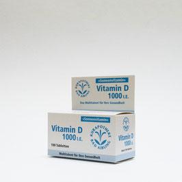 Vitamin D 1000 Einheiten