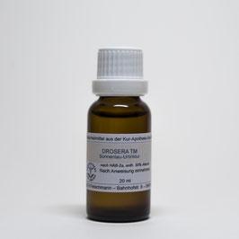 Drosera rotundifolia TM – Sonnentau-Urtinktur