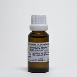 Cinnamomum zeylanicum TM=D1  – Zimtrinden-Urtinktur