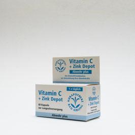 Vitamin-C-Zink-Depot Abwehr plus