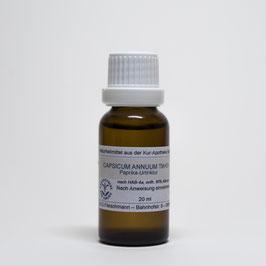 Capsicum annuum TM=D1 – Gewürzpaprika-Urtinktur