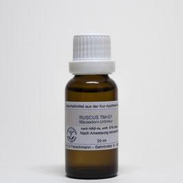 Ruscus aculeatus TM=D1 – Mäusedorn-Urtinktur