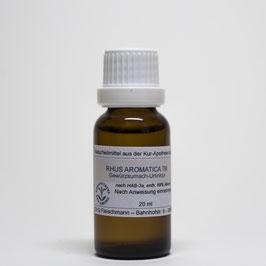 Rhus aromatica TM – Gewürzsumach-Urtinktur