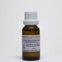 Guajacum e resina TM=D1 – Guajakharz-Urtinktur