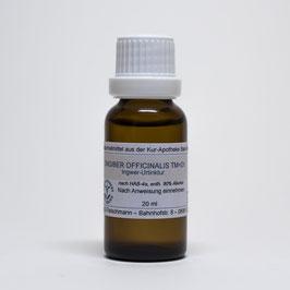 Zingiber officinale TM=D1 – Ingwer-Urtinktur