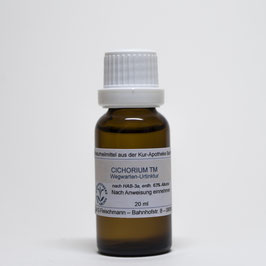 Cichorium intybus TM  – Wegwartenwurzel-Urtinktur
