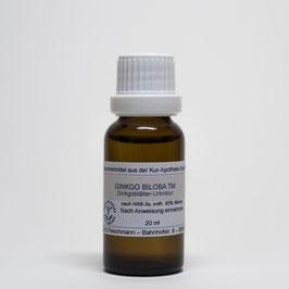 Ginkgo biloba TM – Ginkgoblätter-Urtinktur