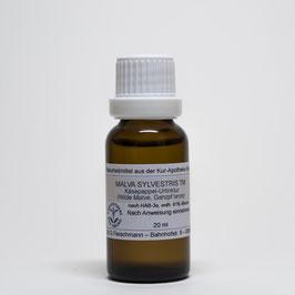 Malva sylvestris TM e planta tota – Käsepappel-Urtinktur