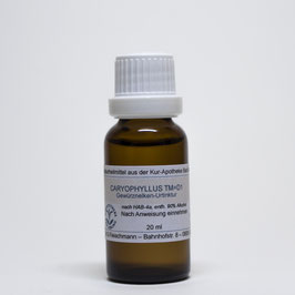 Caryophyllus TM=D1 – Gewürznelken-Urtinktur
