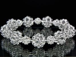 商品番号0005創造再生ブレスレット 水晶二重九芒星