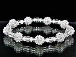 商品番号0003創造再生ブレスレット 水晶九芒星
