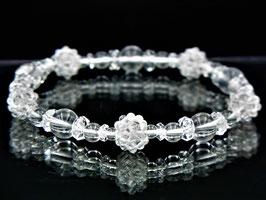 商品番号0001創造再生ブレスレット 水晶五芒星