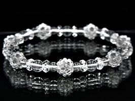商品番号0002創造再生ブレスレット 水晶七芒星